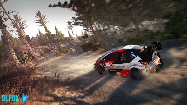 دانلود نسخه فشرده بازی WRC 8 FIA World Rally Championship برای PC