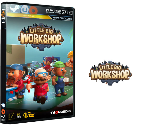دانلود نسخه فشرده بازی Little Big Workshop برای PC