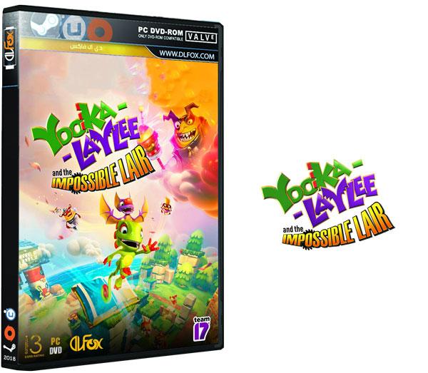 دانلود نسخه فشرده بازی Yooka-Laylee and the Impossible Lair برای PC