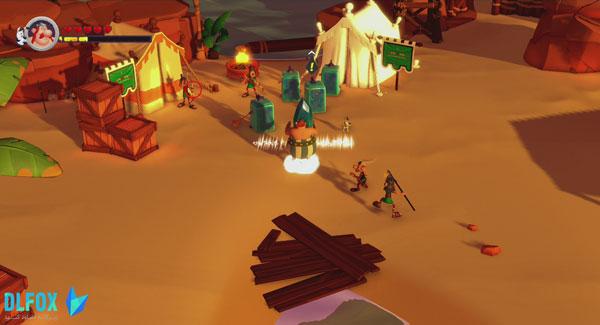 دانلود نسخه فشرده بازی Asterix & Obelix XXL 3 – The Crystal Menhir برای PC