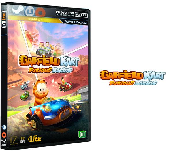 دانلود نسخه فشرده بازی Garfield Kart – Furious Racing برای PC