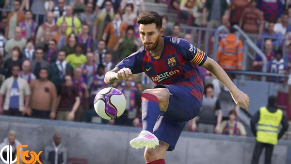 دانلود نسخه فشرده بازی eFootball PES 2020 LITE برای PC