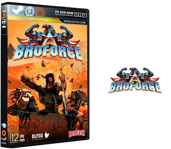 دانلود نسخه فشرده بازی Broforce برای PC