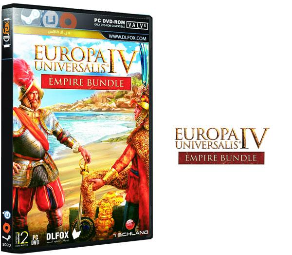دانلود نسخه فشرده بازی Europa Universalis IV: Empire Bundle برای PC