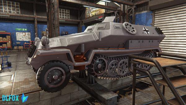 دانلود نسخه فشرده بازی Tank Mechanic Simulator برای PC
