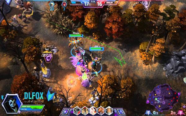 دانلود نسخه فشرده بازی Heroes of the Storm برای PC