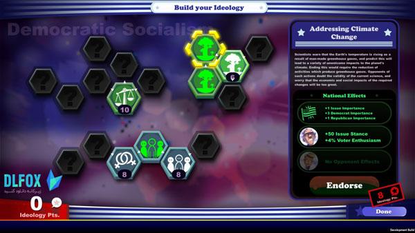 دانلود نسخه فشرده بازی The Political Machine 2020 برای PC