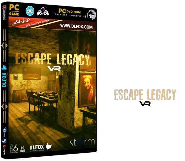 دانلود نسخه فشرده بازی Escape Legacy VR برای PC