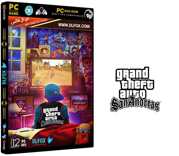 دانلود دوبله فارسی بازی GTA S Andreas Definitive Remastered Edition برای PC