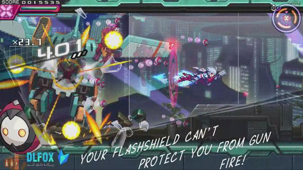 دانلود نسخه فشرده بازی Azure Striker Gunvolt 2 برای PC