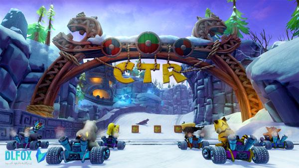 دانلود نسخه کرک شده بازی Crash Team Racing Nitro-Fueled برای PS4
