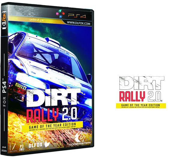دانلود نسخه کرک شده بازی DiRT Rally 2.0 برای PS4