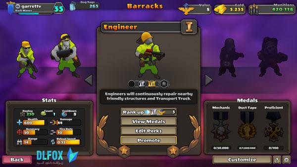 دانلود نسخه نهایی بازی GUNS UP برای PC