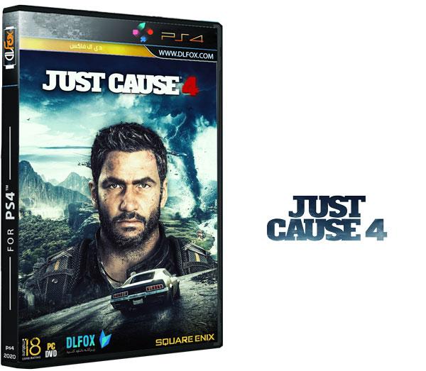 دانلود نسخه کرک شده بازی Just Cause 4 برای PS4