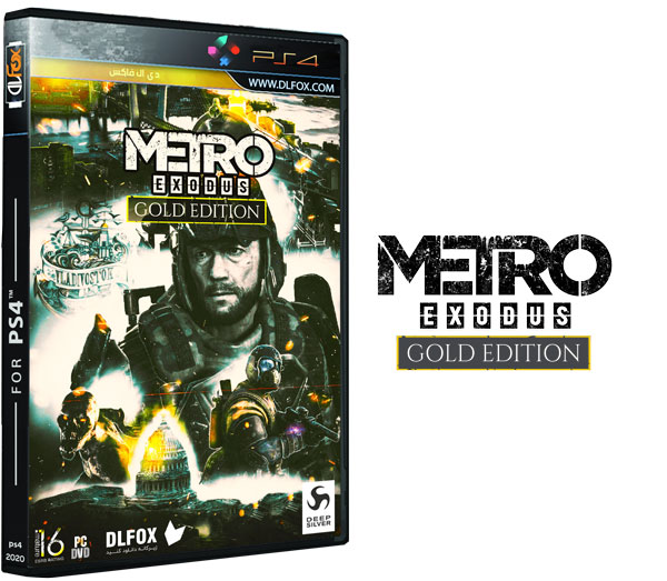 دانلود نسخه کرک شده بازی Metro Exodus برای PS4