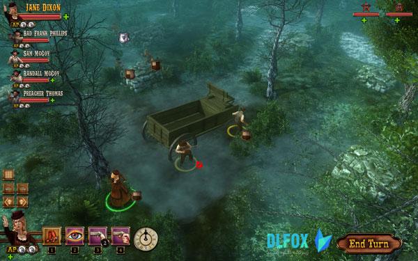 دانلود نسخه فشرده بازی The Feud: Wild West Tactics برای PC