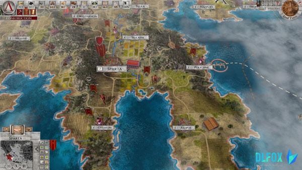 دانلود نسخه فشرده بازی Imperiums Greek Wars برای PC