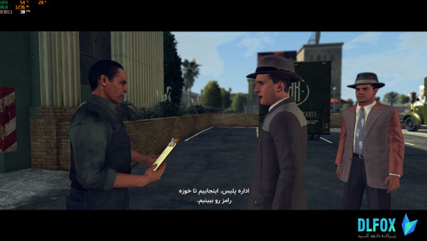 دانلود زیرنویس فارسی بازی L.A. Noire برای PC