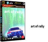 دانلود نسخه فشرده بازی ART OF RALLY برای PC