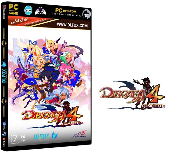 دانلود نسخه فشرده بازی DISGAEA 4 COMPLETE برای PC