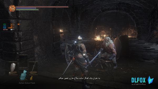 دانلود نسخه فوق فشرده بازی Dark Souls III The Ringed City برای PC