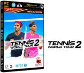 دانلود نسخه فشرده بازی Tennis World Tour 2 برای PC