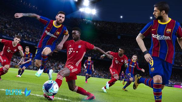 دانلود نسخه فشرده بازی eFootball PES 2021 برای PC