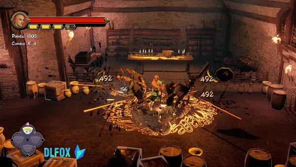 دانلود نسخه فشرده بازی ۹ MONKEYS OF SHAOLIN برای PC