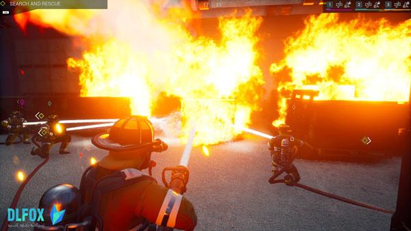 دانلود نسخه فشرده بازی Firefighting Simulator – The Squad برای PC
