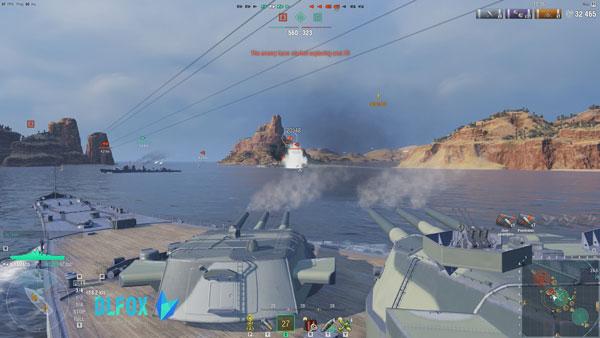 دانلود نسخه فشرده بازی World of Warships برای PC