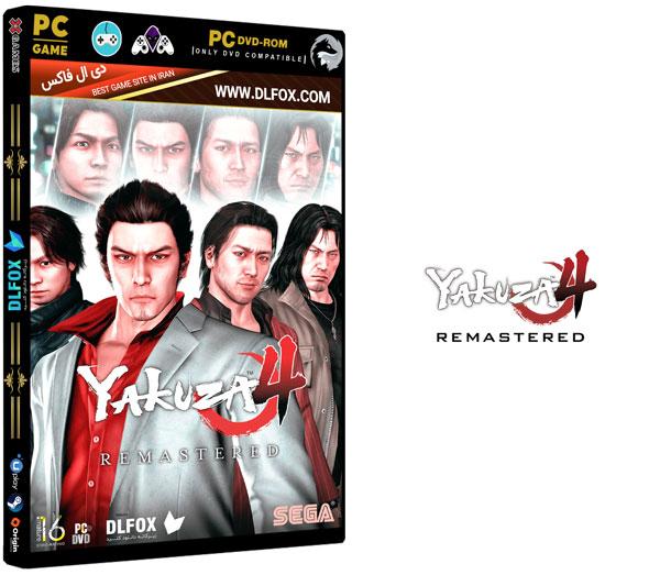 دانلود نسخه کرک شده بازی Yakuza 4: Remastered برای PS4