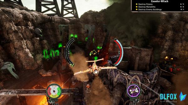 دانلود نسخه فشرده بازی Warhammer 40,000: Dakka Squadron – Flyboyz Edition برای PC