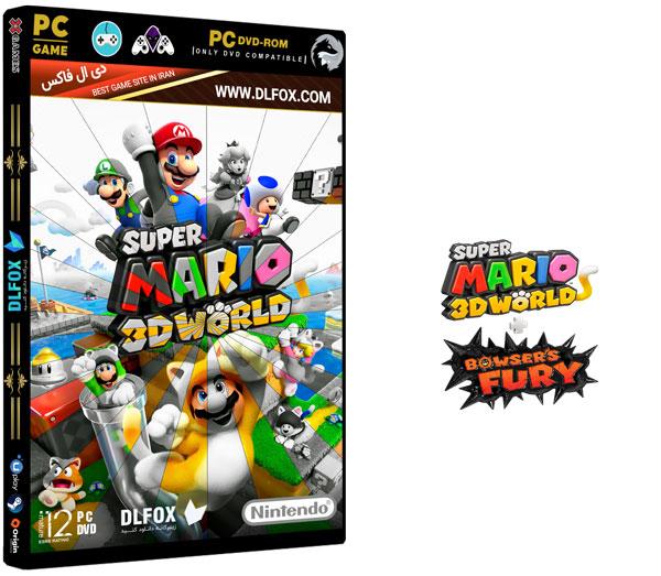 دانلود نسخه فشرده بازی SUPER MARIO 3D WORLD + BOWSERS FURY برای PC