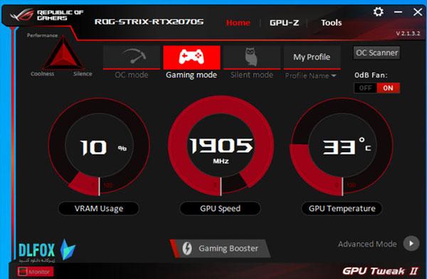 دانلود نسخه نهایی نرم افزار ASUS GPU Tweak II برای PC