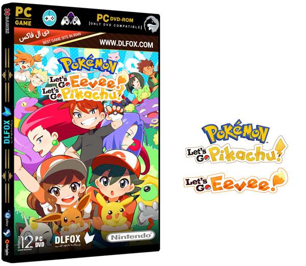 دانلود نسخه فشرده بازی POKEMON: LETS GO, PIKACHU/EEVEE برای PC