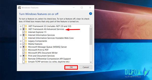 دانلود نسخه نهایی نرم افزار net framework 4.8 برای PC