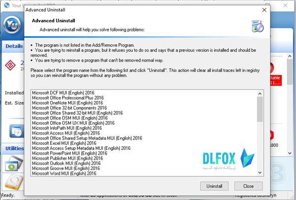 دانلود نسخه نهایی نرم افزار your uninstaller برای PC