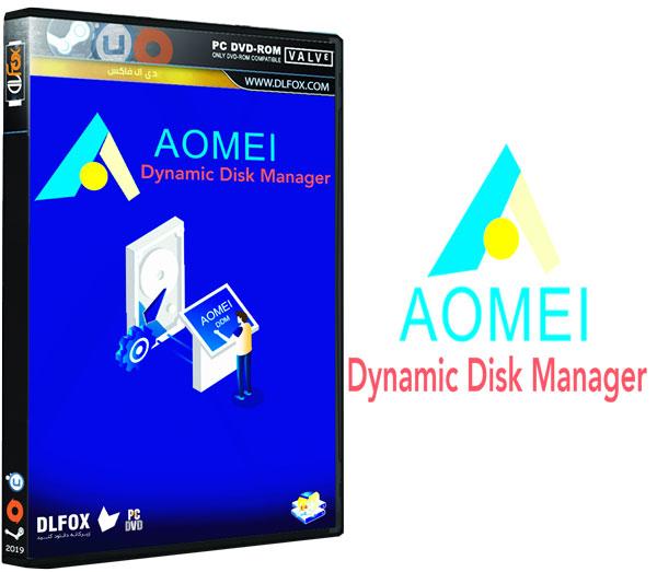 دانلود نسخه نهایی نرم افزار AOMEI Dynamic Disk Manager برای PC