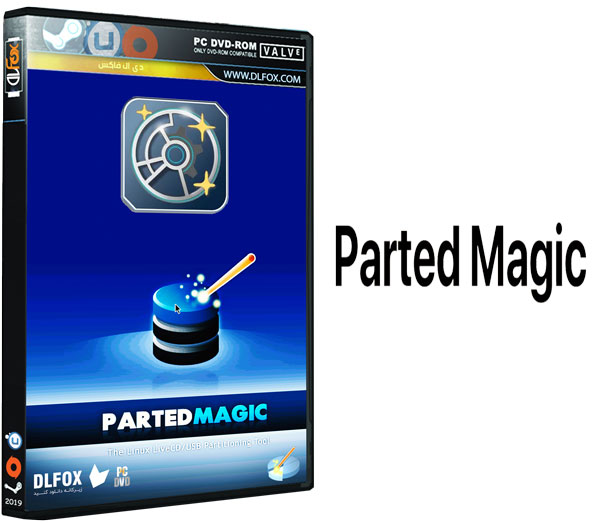 دانلود نسخه نهایی نرم افزار Parted Magic برای PC