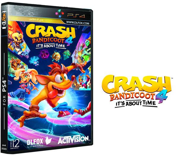 دانلود نسخه فشرده بازی Crash Bandicoot 4 Its About Time برای PS4