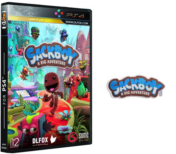 دانلود نسخه فشرده بازی Sackboy A Big Adventure برای PS4