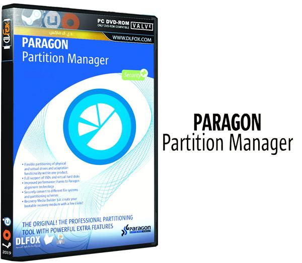 دانلود نسخه نهایی نرم افزار Paragon Partition Manager برای PC