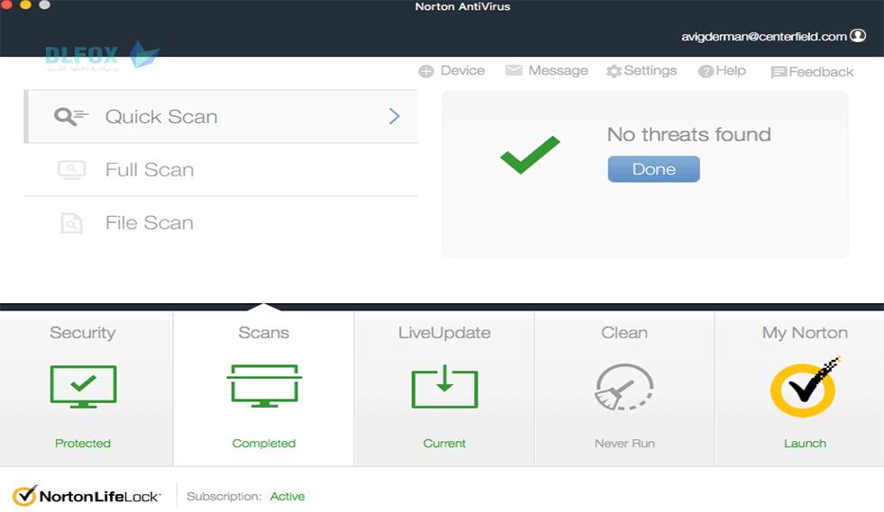 دانلود نسخه نهایی نرم افزار Norton Anti-Virus برای PC