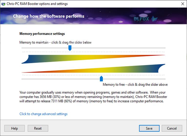 دانلود نسخه نهایی نرم افزار Chris-PC RAM Booster برای PC