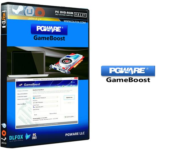 دانلود نسخه نهایی نرم افزار PGWARE GameBoost برای PC