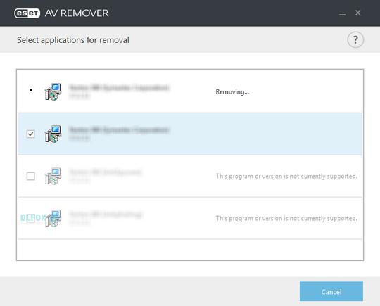 دانلود نسخه نهایی نرم افزار ESET AV Remover برای PC
