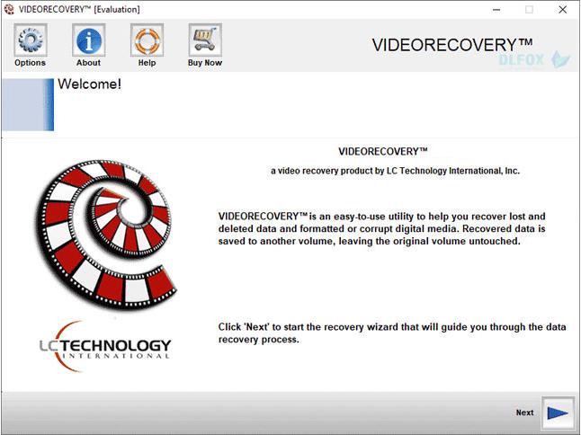 دانلود نسخه نهایی نرم افزار LC Technology VIDEORECOVERY برای PC