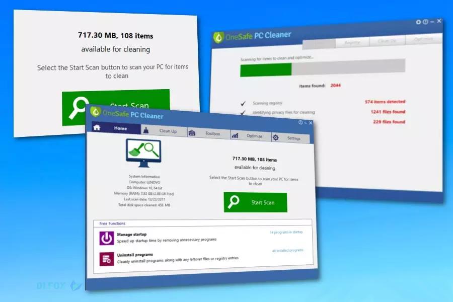دانلود نسخه نهایی نرم افزار PC Cleaner برای PC