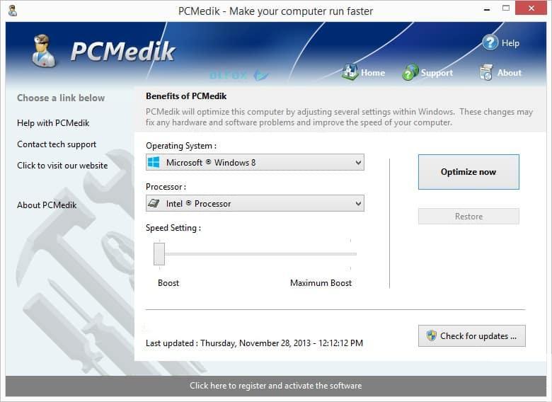 دانلود نسخه نهایی نرم افزار PGWare PC Medik برای PC