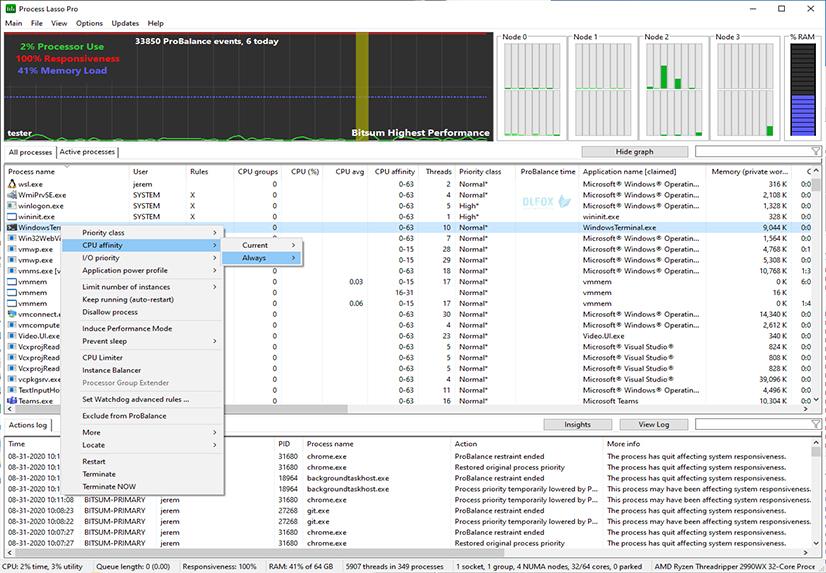 دانلود نسخه نهایی نرم افزار Process Lasso برای PC